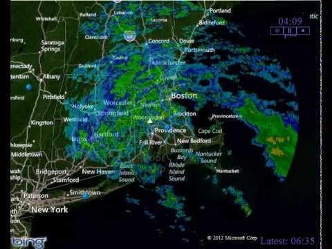 Doppler Radar From Hurricane Sandy Over Southern New England YouTube - Doppler radar buffalo new york