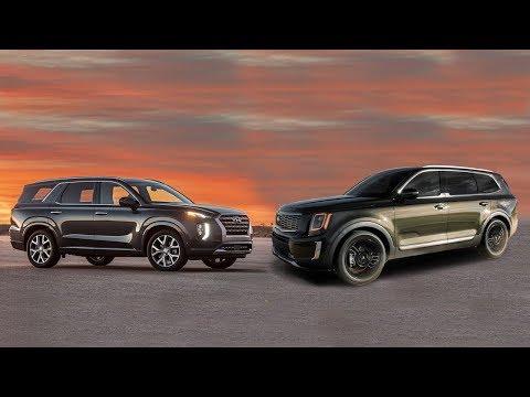 2020 Ford Explorer VS 2020 Hyundai Palisade 포드 신형 익스플로러 현대 팰리세이드 간략 비교