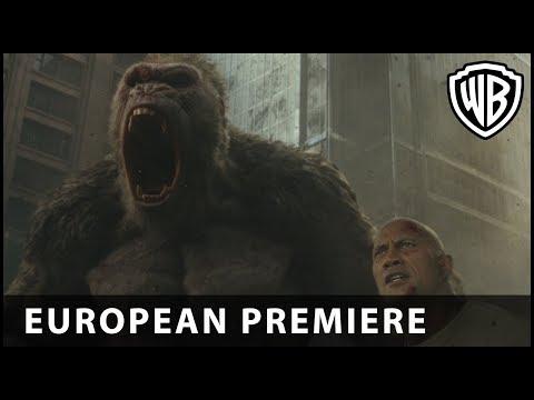 Rampage - European Premiere, London