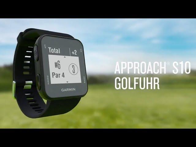 Garmin macht golf spieler fit: smartwatch und entfernungsmesser