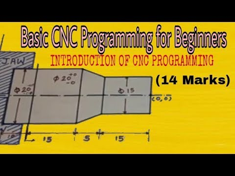 Basic CNC Programming | CNC Programming for beginners | CNC Programming |