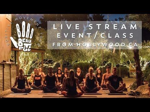 Live: Positive Movement Finale- w/60 Minute Vinyasa Yoga Class!