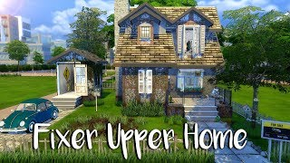 The Sims 4: Speed Build// FIXER UPPER + CC Links
