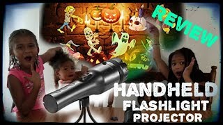 FitFirst Handheld Flashlight Projector Review | Myhouse TV