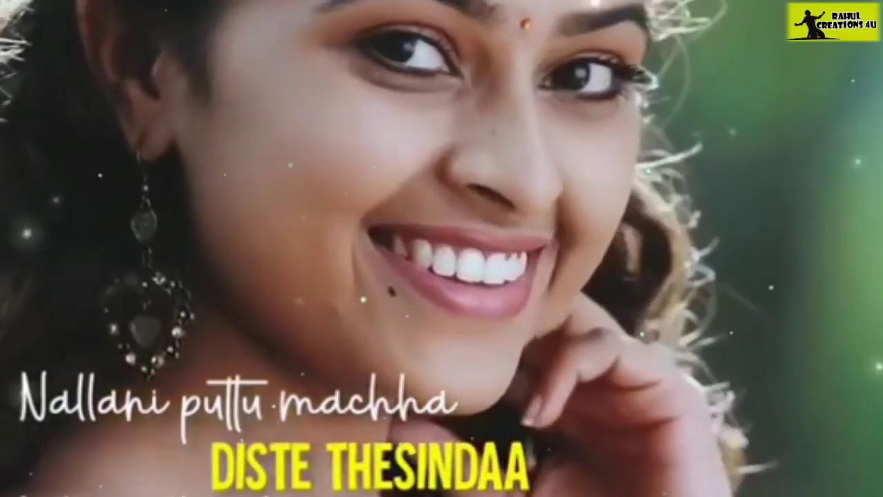 cute love song 💓💓 Telugu whatsapp status videos.telugu ...
