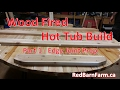 Wood Fired Hot Tub Build - Part 1 - Edge Joint Prep