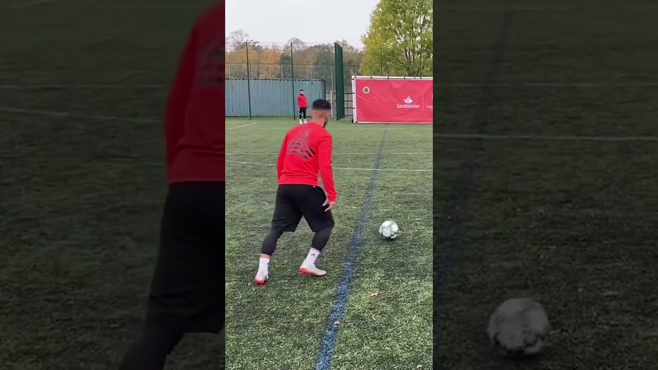 OUR SMALLEST FOOTBALL TARGET SHOT EVER! 🎯   #Shorts