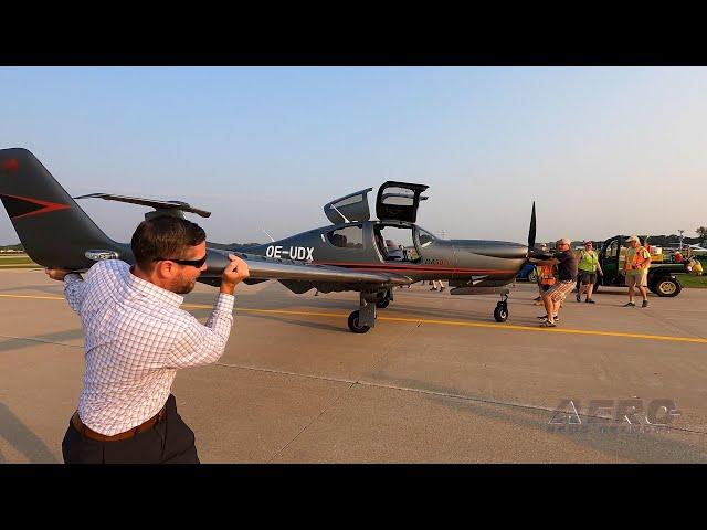 Airborne Oshkosh Day 2: Aspen Avionics, DA50 RG!, Aviation Safety Resources
