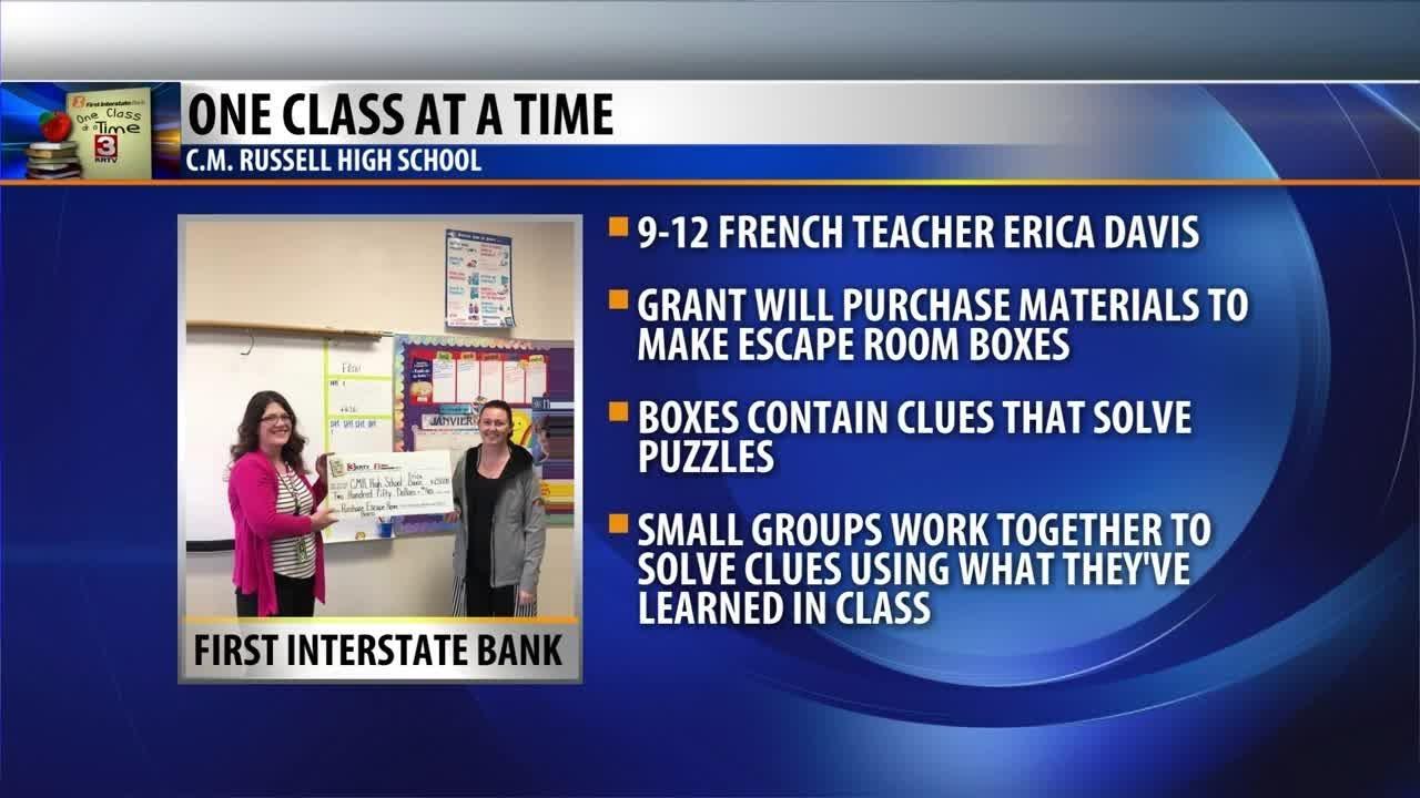 One Class At A Time: Erica Davis