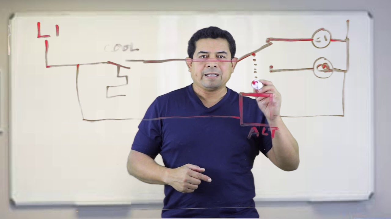 circuit diagram alternating relay switch alternating relay hvac online training and courses youtube  alternating relay hvac online