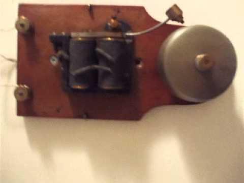 - Original Old Vintage Electric Bell Door Or Telephone. - YouTube