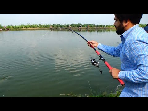 Nice Fishing Videos By Rifat Using Fishing Rod & Reel