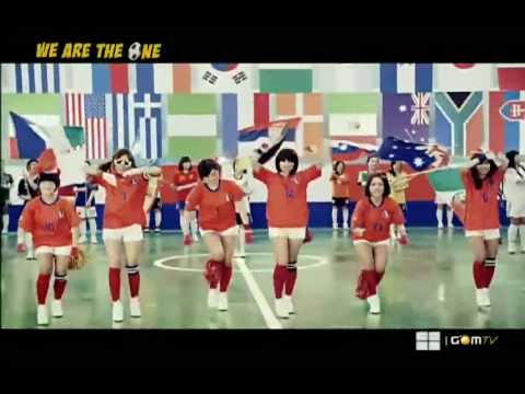 [MV/HD] T-ara/Tiara - We Are The One [World Cup Song]