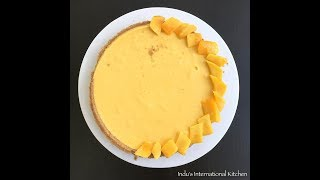 Easy and delicious mango pie