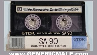 80s New Wave / Alternative Songs Mixtape Volume 9 Version 2