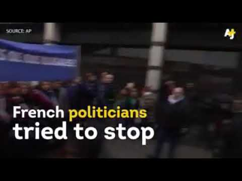 France politicians attacking Muslims for praying on streets