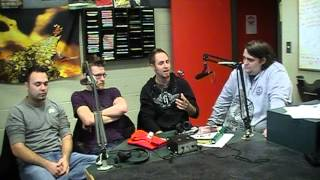 Ravenscode Interview @ 91X March 12th, 2013 Part (1 of 3)