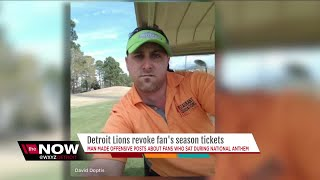 Metro Detroit business owner loses Lions season tickets after racist post