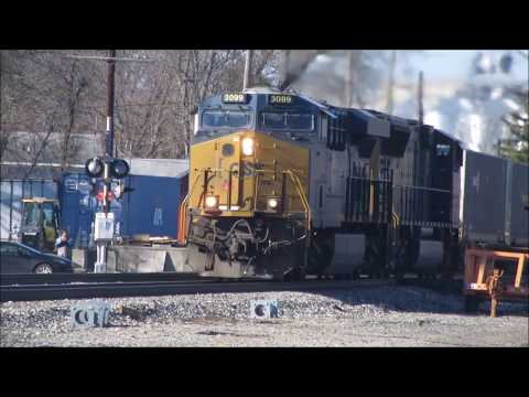 A Fantastic and Fun-Filled Day of Railfanning in Fostoria, Ohio! 11/24/2017.