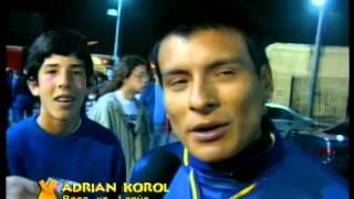 Adrian Korol en Boca vs Lanus, primera parte - Videomatch 1997