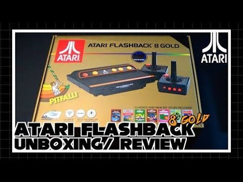 Atari Flashback 8 Gold HD Unboxing And Review
