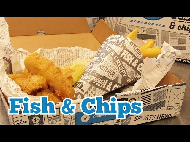 KITCHEN CRAFT  - Fish & Chips