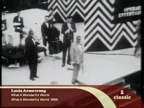 LOUIS ARMSTRONG what wonderful world MusicTVRain