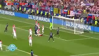 اهداف فرنسا وكرواتيا 4-2 نهائي كاس العالم 2018 جنون عصام الشوالي !!