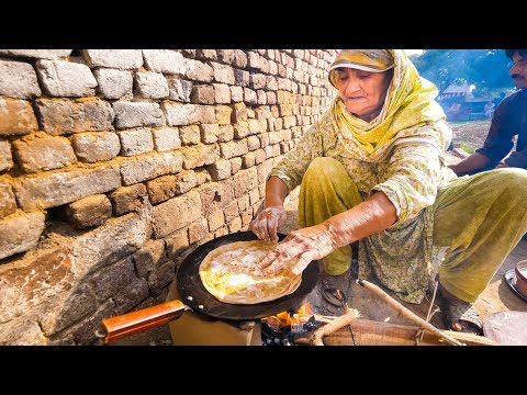 Village Food in Pakistan - BIG PAKISTANI BREAKFAST in Rural Punjab, Pakistan!