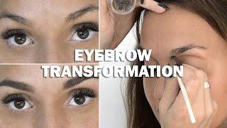 Eyebrow Transformation (with subs) - Linda Hallberg Makeup Tutorials Thumbnail