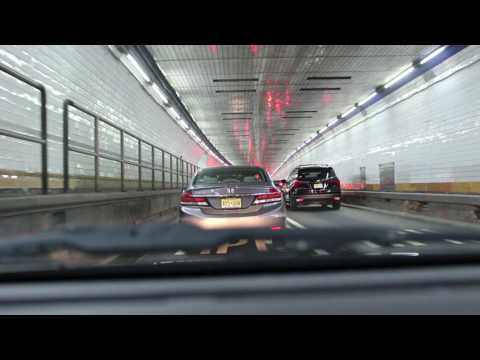 The Holland Tunnel dash cam