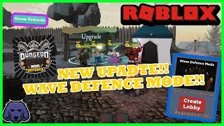 NEW UPDATE!!! DUNGEON QUEST WAVE DEFENCE!! | ROBLOX LIVE! *ROAD TO 1K SUBS*
