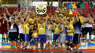 Final Men BRAZIL vs RUSSIA - 5th World University Futsal Championship 2016 - Goiânia