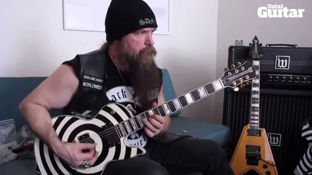 zakk wylde and his new line of guitars and amps wylde audio youtube. Black Bedroom Furniture Sets. Home Design Ideas