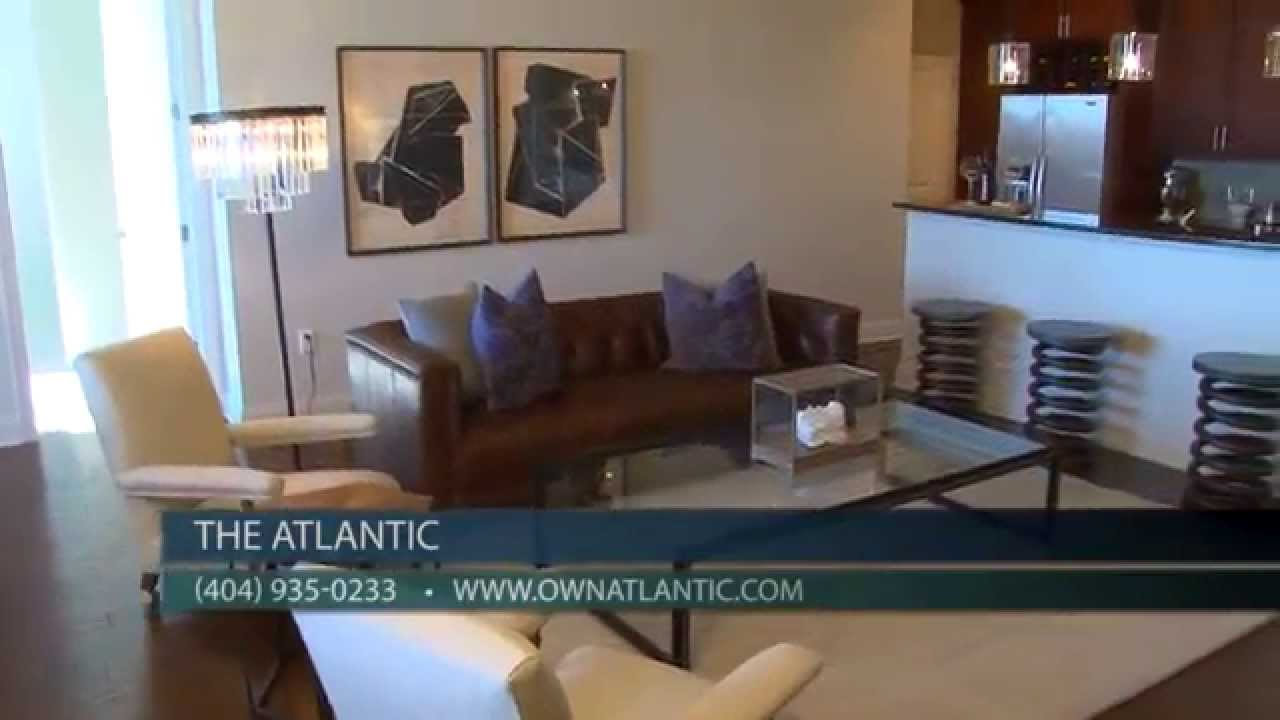 Midtown atlanta condos for sale at the atlantic a prime for 3 bedroom lofts