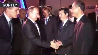 Прибытие Владимира Путина в Китай(, 2016-09-03T14:25:31.000Z)