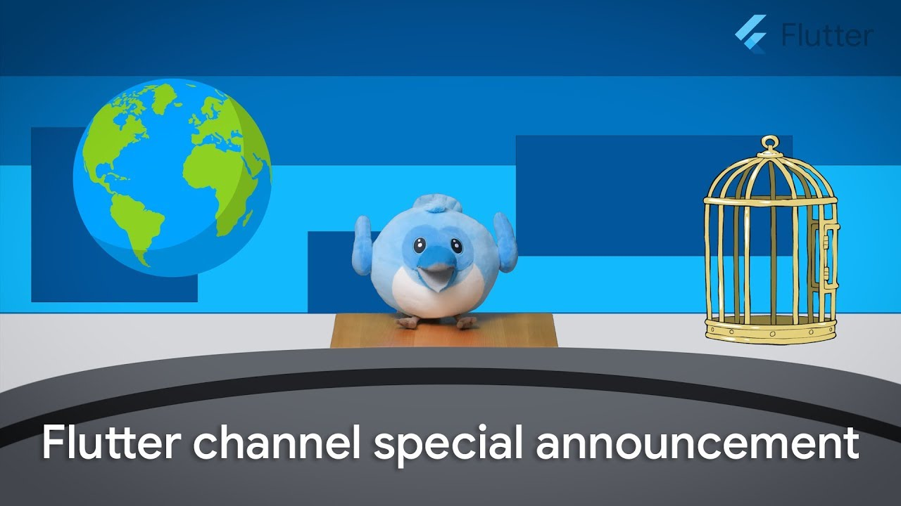 Flutter TV Announcement: Thank you for helping us reach 100k Subscribers!