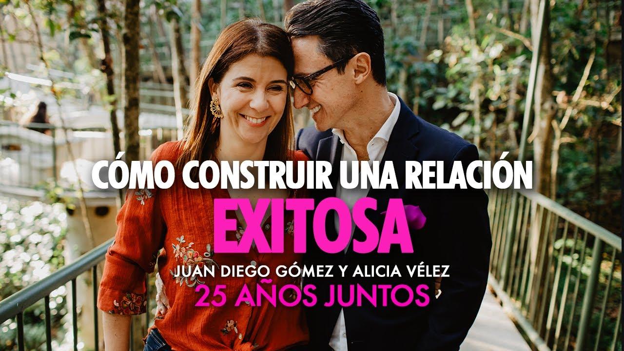 Cómo construir una relación de pareja exitosa / Juan Diego Gómez y su esposa Alicia Vélez