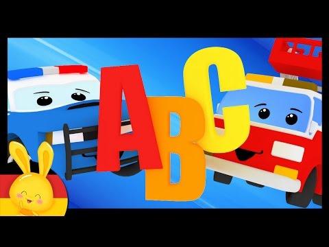 Das deutsche Alphabet-Lied - Alphabet lernen durch Mitsingen - Mein Auto - Titounis