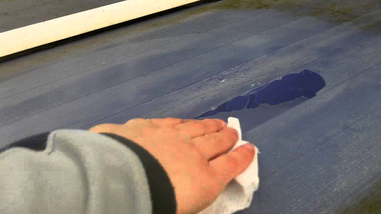 How To Repair A Plastic Conservatory Roof Easily Youtube