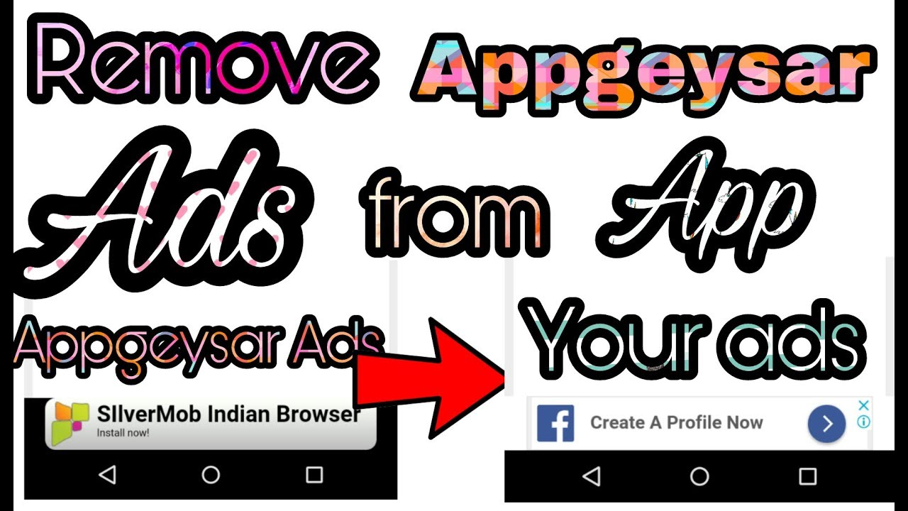 how to remove appsgeyser ads from app BY Technical Azhar