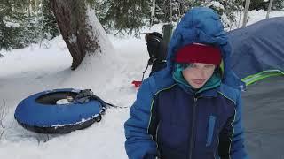 Winter Camping in Utah