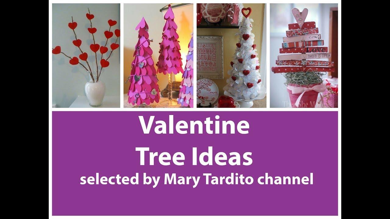 Valentine Tree Ideas Best Valentine S Day Decor Valentines Day