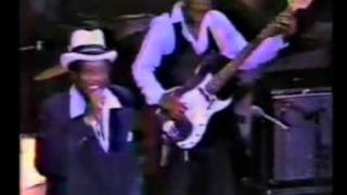 Bobby Blue Bland - Chicago 1981 with Wyne Bennet and Mel Brown