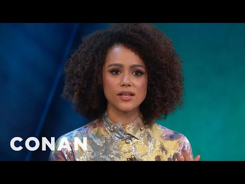 Nathalie Emmanuel On If Daenerys & Missandei Will Hook Up   CONAN on TBS