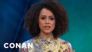 Nathalie Emmanuel On If Daenerys  Missandei Will Hook Up  - CONAN on TBS