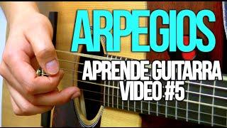 Arpegios para guitarra - Aprende guitarra #5 (Principiantes)