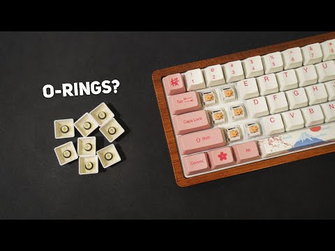 Why O-Rings suck for keyboards
