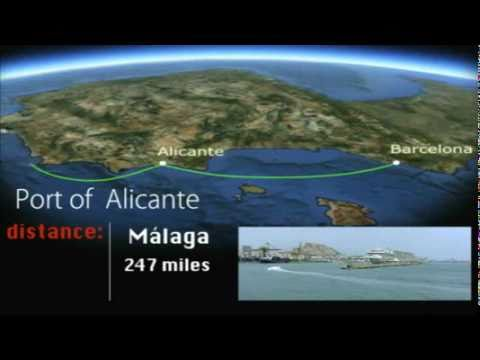 Look at Port of Alicante. Port of Call