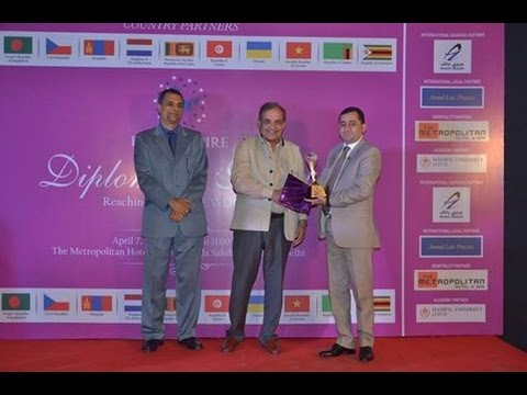 Azizi Bank received India Empire Magazine Award in New Delhi